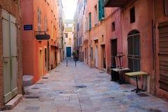 Escena de la calle, Bastia Fotografía de archivo libre de regalías
