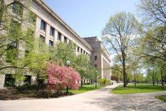 Escena de la calle de Ann Arbor Imagenes de archivo