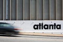 Escena de la calle de Atlanta Fotos de archivo