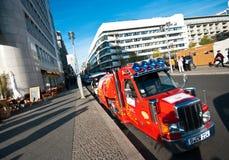 Escena de la calle de Berlín Imagen de archivo