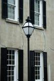 Escena de la calle de Charleston Foto de archivo libre de regalías