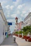 Escena de la calle de Cienfuegos Imagenes de archivo