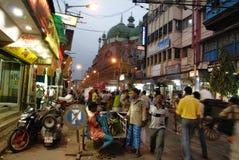 Escena de la calle de Kolkata Imagenes de archivo