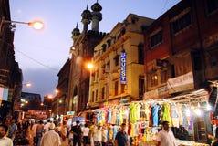 Escena de la calle de Kolkata Fotos de archivo
