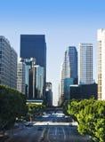 Escena de la calle de la ciudad de Los Ángeles foto de archivo libre de regalías