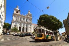 Escena de la calle de Lisboa Foto de archivo