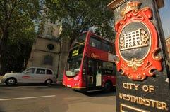 Escena de la calle de Londres Imagen de archivo libre de regalías