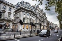 Escena de la calle de Londres Fotografía de archivo libre de regalías