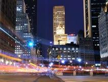 Escena de la calle de Manhattan Foto de archivo libre de regalías