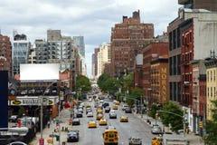 Escena de la calle de New York City Foto de archivo