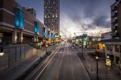 Escena de la calle de Niágara Fotografía de archivo libre de regalías