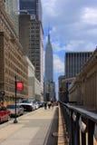 Escena de la calle de Nueva York Foto de archivo libre de regalías