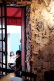 Escena 2 de la calle de París Imágenes de archivo libres de regalías