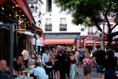 Escena 5 de la calle de París Fotos de archivo
