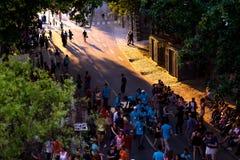 Escena 6 de la calle de París Imagen de archivo libre de regalías