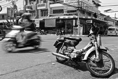 Escena de la calle de Tailandia Imagenes de archivo