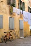 Escena de la calle de Zadar Fotos de archivo libres de regalías