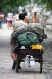 Escena de la calle en China Imagen de archivo libre de regalías