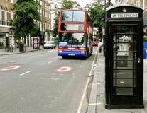 Escena de la calle de Londres Fotografía de archivo