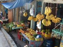Escena de la calle de Zamboanga, Mindanao, Filipinas fotos de archivo libres de regalías