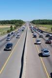 Escena de la carretera Fotografía de archivo