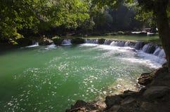 Escena de la cascada Imagenes de archivo