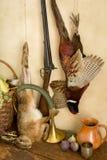 Escena de la caza Fotografía de archivo