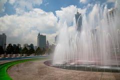 Escena de la ciudad Fotografía de archivo