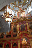 Escena de la ciudad de Kyiv imagen de archivo libre de regalías