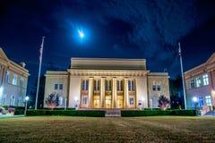 Escena de la ciudad de la noche imagen de archivo libre de regalías