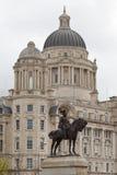 Escena de la ciudad de Liverpool Fotos de archivo