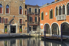 Escena de la ciudad de Venecia Fotografía de archivo