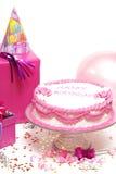 Escena de la fiesta de cumpleaños Imagen de archivo libre de regalías