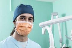Escena de la forma de vida de la oficina del dentista desaturated fotos de archivo