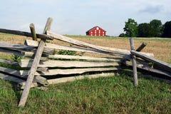Escena de la granja imagenes de archivo