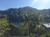 Escena de la isla imagenes de archivo