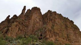 Escena de la montaña Foto de archivo