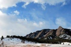 Escena de la montaña de Colorado Fotos de archivo libres de regalías