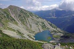 Escena de la montaña de Retezat Fotos de archivo libres de regalías