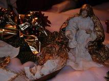 Escena de la natividad foto de archivo libre de regalías