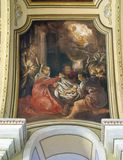 Escena de la natividad Imagen de archivo libre de regalías