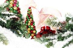 Escena de la Navidad Foto de archivo