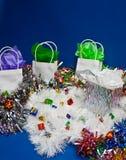 Escena de la Navidad Fotos de archivo