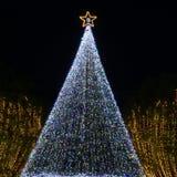 Escena de la Navidad en Tama, Tokio imagen de archivo