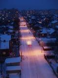 Escena de la noche Fotos de archivo