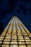 Escena de la noche de Ciudad de México - de Estela de luz fotografía de archivo libre de regalías