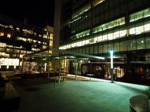 Escena de la noche de Adelaide Foto de archivo