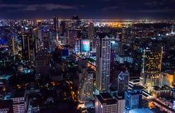 Escena 1 de la noche de Bangkok Imagen de archivo
