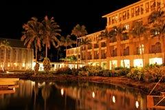 Escena de la noche de Guam Foto de archivo libre de regalías
