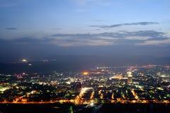 Escena de la noche de la ciudad imágenes de archivo libres de regalías
